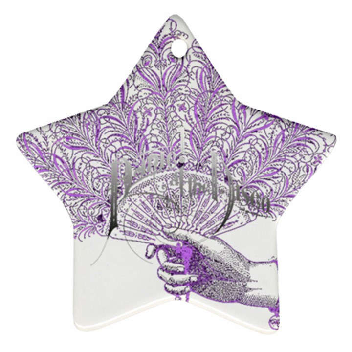 Panic At The Disco Star Ornament (Two Sides)