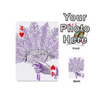 Panic At The Disco Playing Cards 54 (Mini)  Front - Heart4
