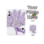 Panic At The Disco Playing Cards 54 (Mini)  Front - Spade5