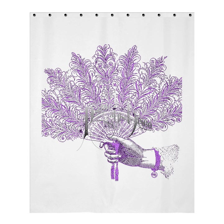 Panic At The Disco Shower Curtain 60  x 72  (Medium)