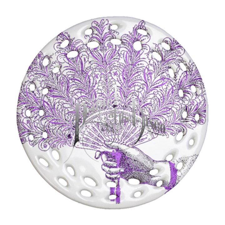 Panic At The Disco Round Filigree Ornament (2Side)