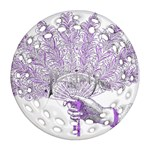 Panic At The Disco Round Filigree Ornament (2Side) Back