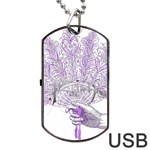 Panic At The Disco Dog Tag USB Flash (One Side) Front