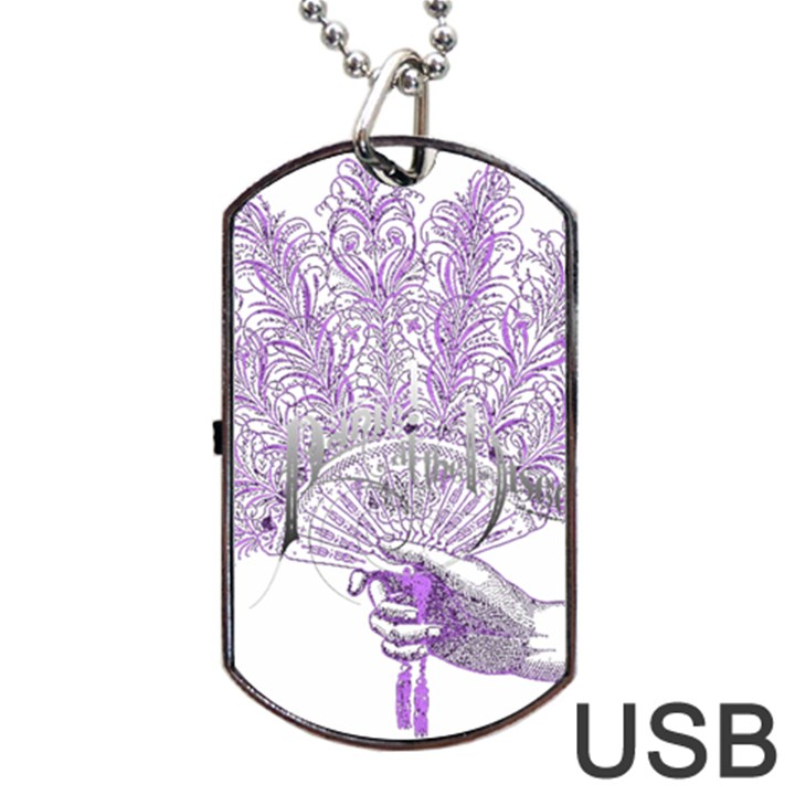 Panic At The Disco Dog Tag USB Flash (One Side)
