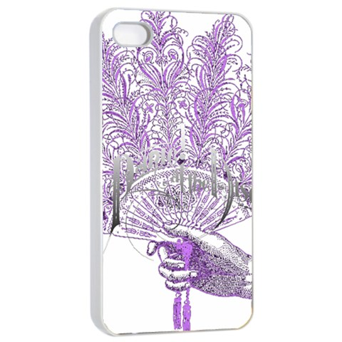 Panic At The Disco Apple iPhone 4/4s Seamless Case (White)