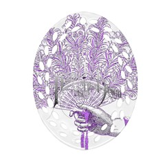 Panic At The Disco Ornament (oval Filigree)