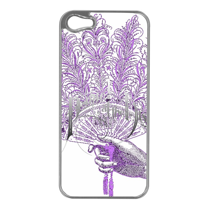 Panic At The Disco Apple iPhone 5 Case (Silver)
