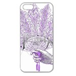 Panic At The Disco Apple Seamless iPhone 5 Case (Clear) Front