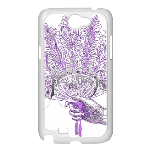 Panic At The Disco Samsung Galaxy Note 2 Case (White)