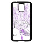 Panic At The Disco Samsung Galaxy S5 Case (Black) Front