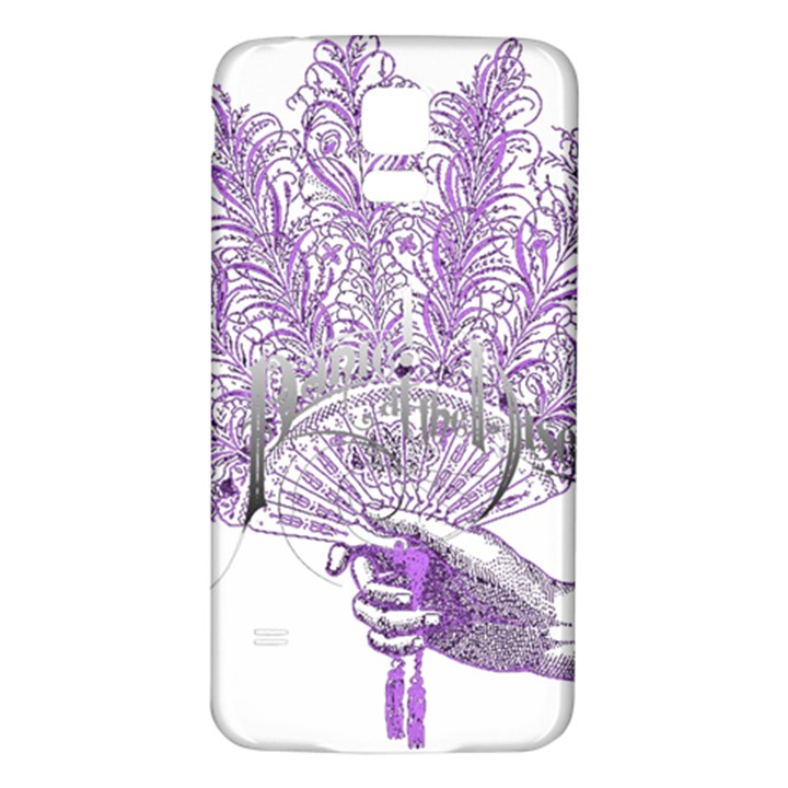 Panic At The Disco Samsung Galaxy S5 Back Case (White)
