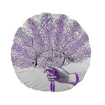 Panic At The Disco Standard 15  Premium Flano Round Cushions Back