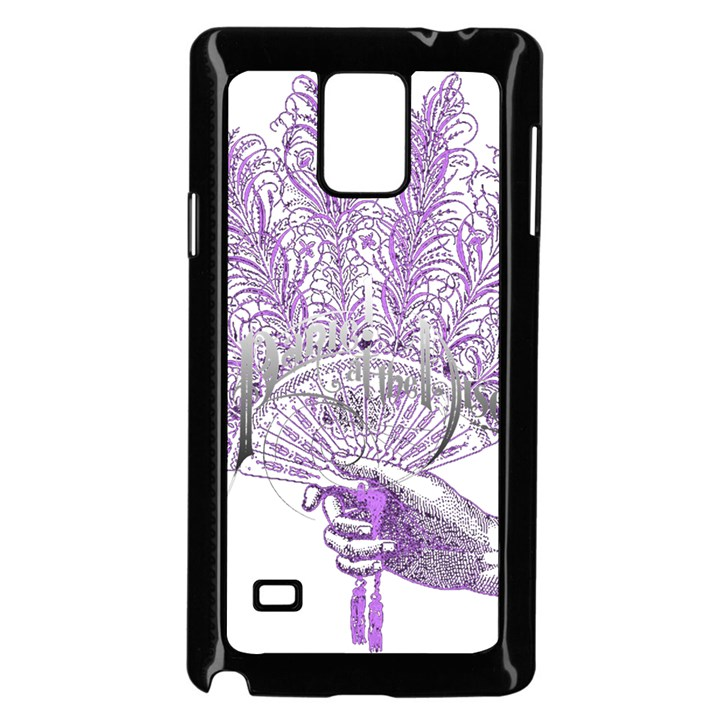 Panic At The Disco Samsung Galaxy Note 4 Case (Black)