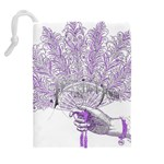 Panic At The Disco Drawstring Pouches (Extra Large) Back