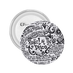 Panic! At The Disco Lyric Quotes 2 25  Buttons