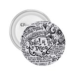 Panic! At The Disco Lyric Quotes 2.25  Buttons Front