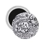 Panic! At The Disco Lyric Quotes 2.25  Magnets Front