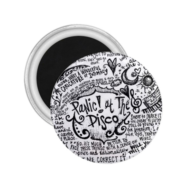 Panic! At The Disco Lyric Quotes 2.25  Magnets