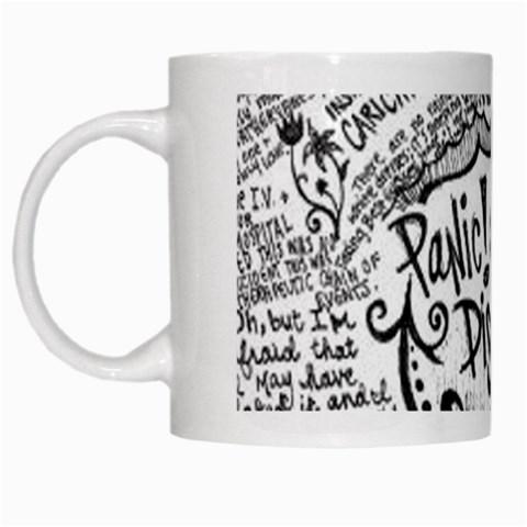 Panic! At The Disco Lyric Quotes White Mugs