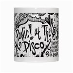 Panic! At The Disco Lyric Quotes White Mugs Center