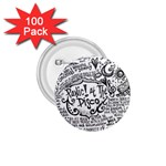 Panic! At The Disco Lyric Quotes 1.75  Buttons (100 pack)  Front