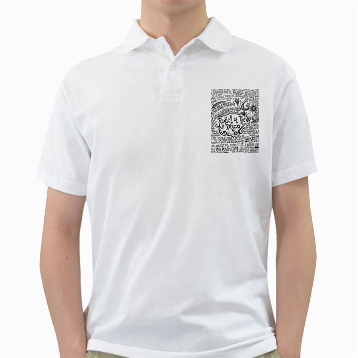 Panic! At The Disco Lyric Quotes Golf Shirts