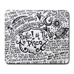 Panic! At The Disco Lyric Quotes Large Mousepads Front
