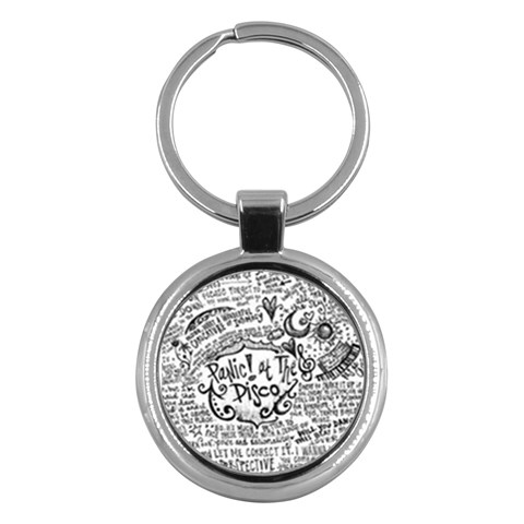 Panic! At The Disco Lyric Quotes Key Chains (Round)