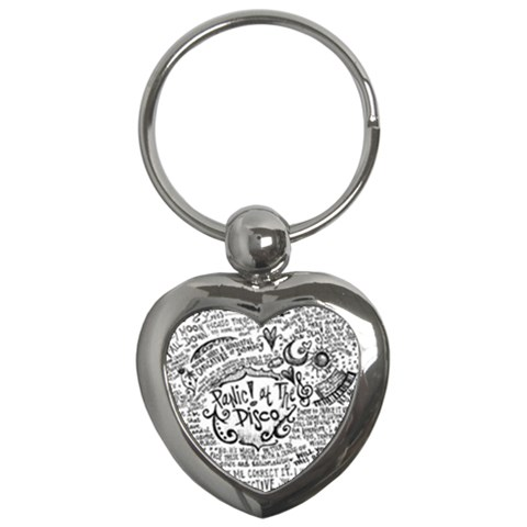 Panic! At The Disco Lyric Quotes Key Chains (Heart)