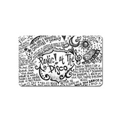 Panic! At The Disco Lyric Quotes Magnet (name Card)