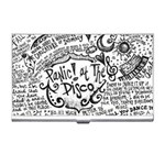 Panic! At The Disco Lyric Quotes Business Card Holders Front