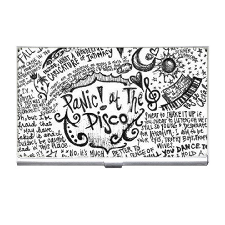 Panic! At The Disco Lyric Quotes Business Card Holders