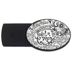Panic! At The Disco Lyric Quotes USB Flash Drive Oval (2 GB)