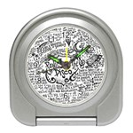 Panic! At The Disco Lyric Quotes Travel Alarm Clocks Front