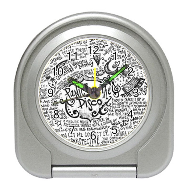 Panic! At The Disco Lyric Quotes Travel Alarm Clocks
