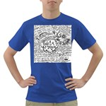 Panic! At The Disco Lyric Quotes Dark T-Shirt Front