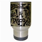 Panic! At The Disco Lyric Quotes Travel Mug (Silver Gray) Center