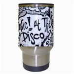Panic! At The Disco Lyric Quotes Travel Mugs (White) Center