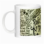 Panic! At The Disco Lyric Quotes Night Luminous Mugs Left