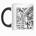Panic! At The Disco Lyric Quotes Morph Mugs Left