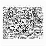 Panic! At The Disco Lyric Quotes Small Glasses Cloth Front