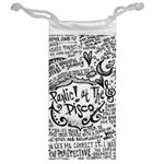 Panic! At The Disco Lyric Quotes Jewelry Bags Back