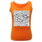 Panic! At The Disco Lyric Quotes Women s Dark Tank Top Front