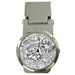 Panic! At The Disco Lyric Quotes Money Clip Watches Front