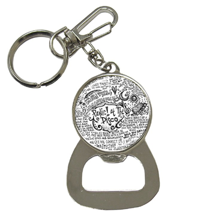 Panic! At The Disco Lyric Quotes Bottle Opener Key Chains