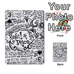 Panic! At The Disco Lyric Quotes Playing Cards 54 Designs  Front - Spade3