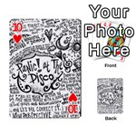 Panic! At The Disco Lyric Quotes Playing Cards 54 Designs  Front - Heart10