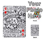 Panic! At The Disco Lyric Quotes Playing Cards 54 Designs  Front - Diamond4