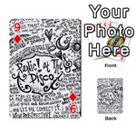 Panic! At The Disco Lyric Quotes Playing Cards 54 Designs  Front - Diamond9