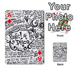 Panic! At The Disco Lyric Quotes Playing Cards 54 Designs  Front - DiamondA